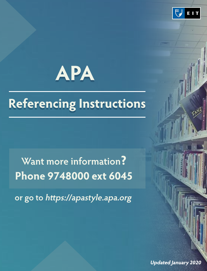 apa referencing for dummies