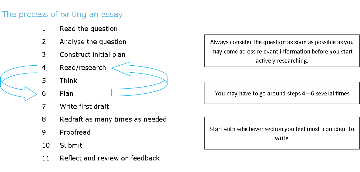 analysing the question - Essay Structure Format