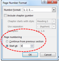 Word 2013 inserting page numbers and formatting them inserting page numbers different page numbers in one document ccuart Gallery