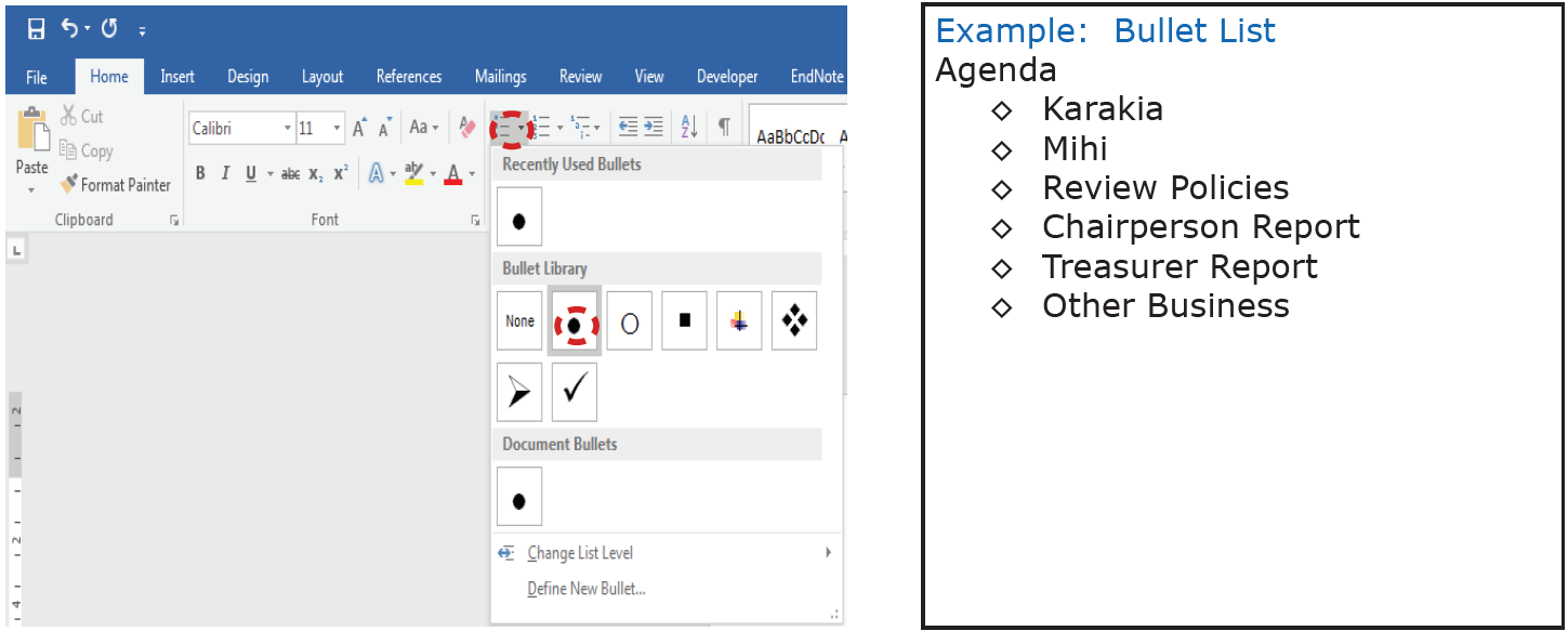 how to re start numbering in word