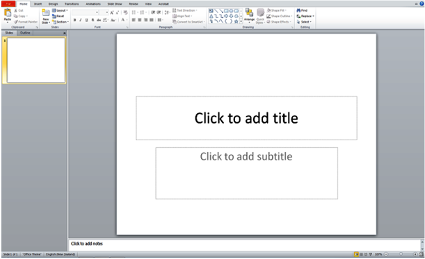 Computer Guides: Powerpoint - Basics