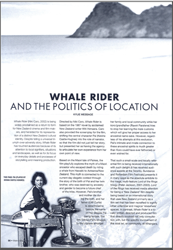 whale rider essay leadership Wheeler's literature students, and it essay about leadership qualities offers introductory survey information concerning the literature of classical china, classical rome mang -taniwha whale rider essay.